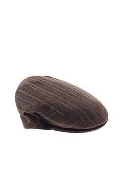 Casquette marron DERBY SPORT pour homme