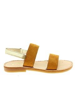 Sandales/Nu pieds marron BABYBOTTE pour fille