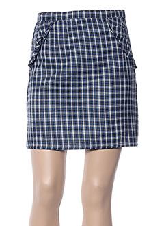 Jupe courte bleu COMPAÑIA FANTASTICA pour femme