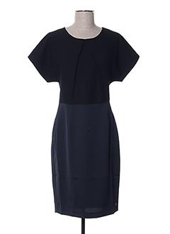 Robe mi-longue noir LOLA ESPELETA pour femme