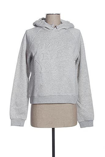 Sweat-shirt gris GARCIA pour fille