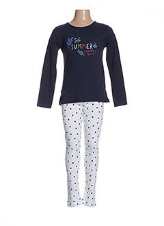Pyjama bleu ABSORBA pour fille