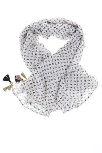 Foulard blanc I.CODE (By IKKS) pour femme