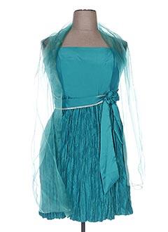 Robe mi-longue bleu CC FASHION pour femme