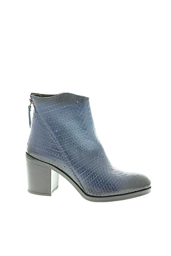 Bottines/Boots bleu BEMOOD pour femme