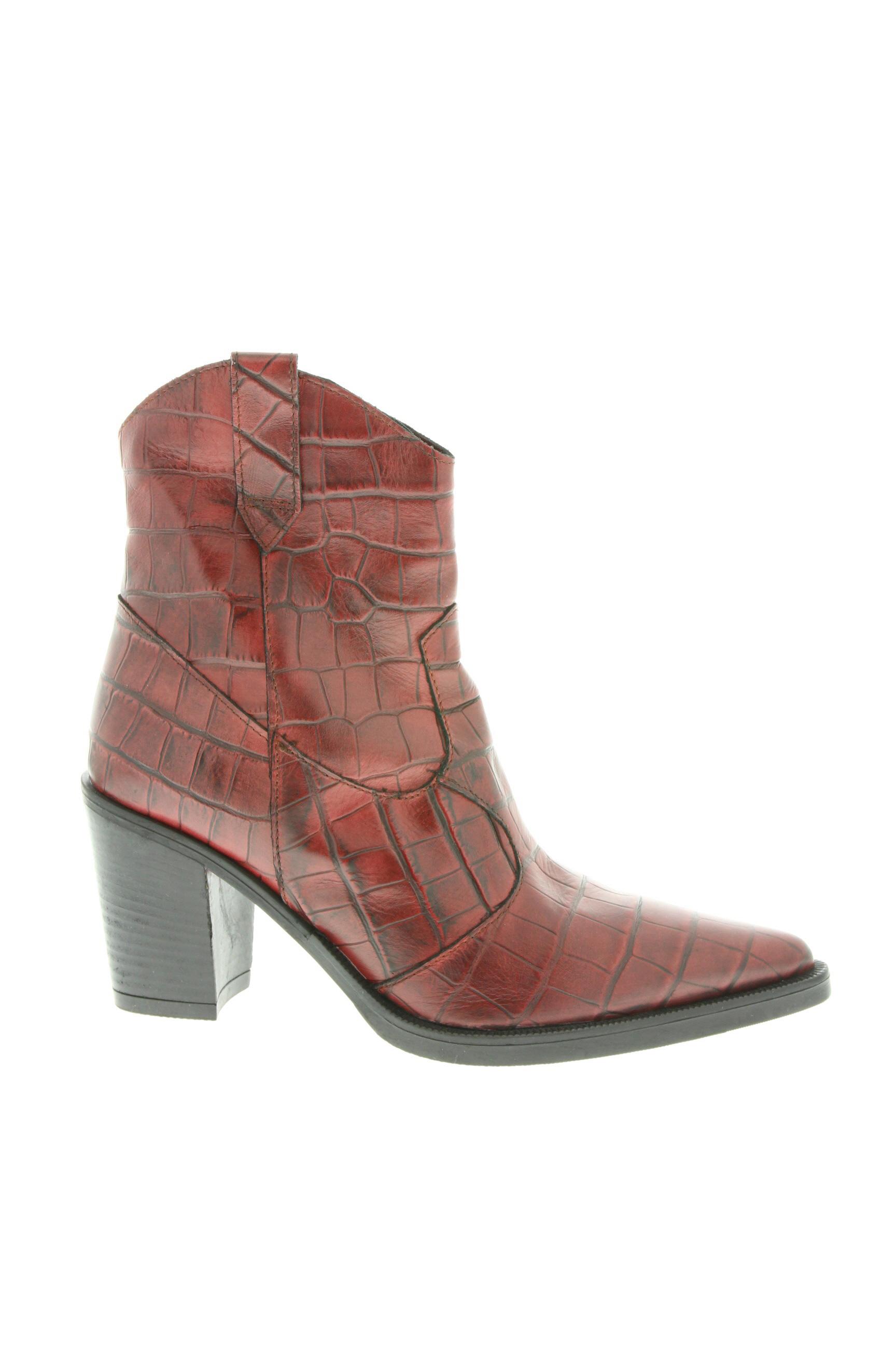 Bottines/Boots femme Emanuele Crasto rouge taille : 40 89 FR (FR)