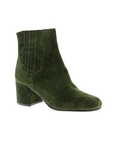 Boots vert ADELE DEZOTTI pour femme