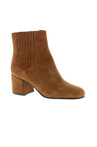 Boots marron ADELE DEZOTTI pour femme