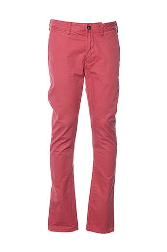 Pantalon casual orange SUPERDRY pour homme