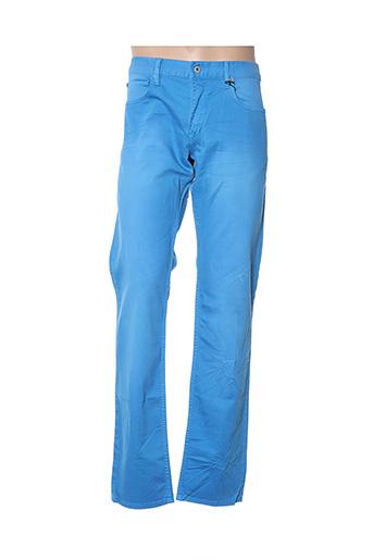 Pantalon casual bleu MOSCHINO pour homme