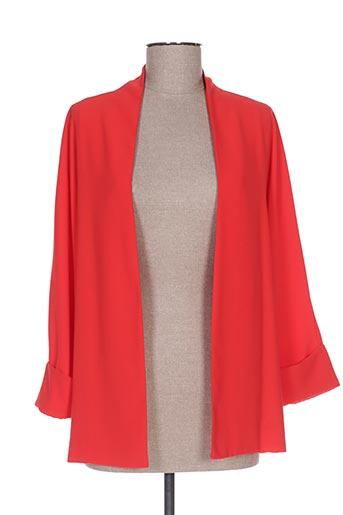 Veste casual rouge CRISTINA GAVIOLI pour femme