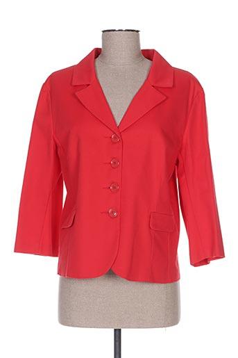 Veste chic / Blazer rouge CRISTINA GAVIOLI pour femme