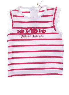 Produit-T-shirts-Fille-WEEK END A LA MER