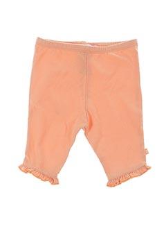 Legging orange WEEK END A LA MER pour fille