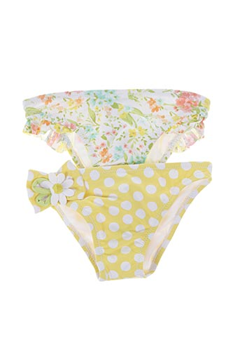 Bas de maillot de bain jaune MAYORAL pour fille