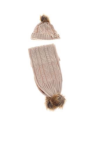Bonnet beige MAYORAL pour fille