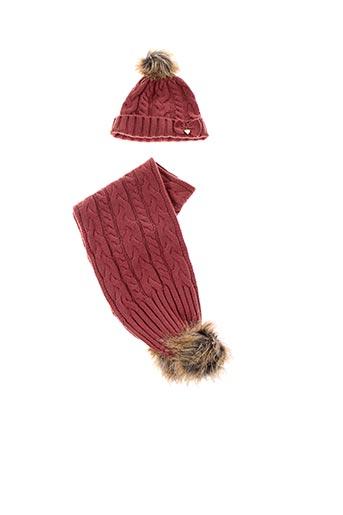 Bonnet rouge MAYORAL pour fille
