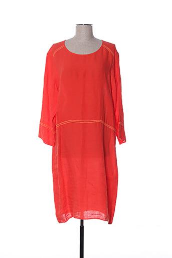 Robe mi-longue rouge HARTFORD pour femme