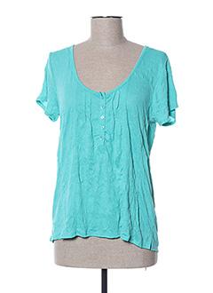 T-shirt manches courtes vert ESPRIT DE LA MER pour femme