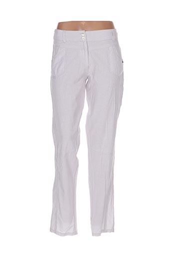 Pantalon casual gris GOUBI pour femme