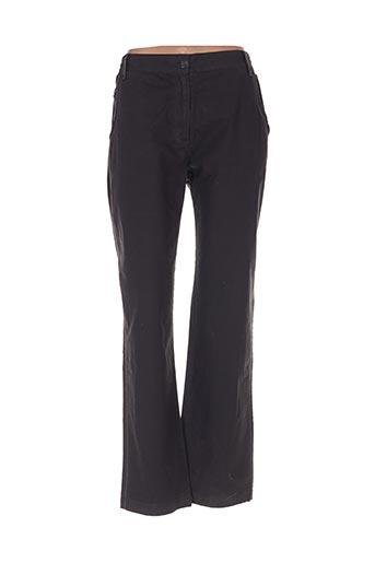 Pantalon casual noir ESPRIT DE LA MER pour femme