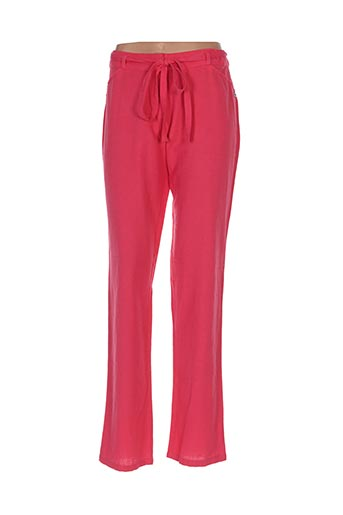 Pantalon casual rouge GOUBI pour femme