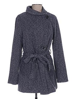 Manteau court bleu SMASH WEAR pour femme