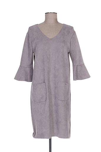 Robe pull gris MD'M pour femme