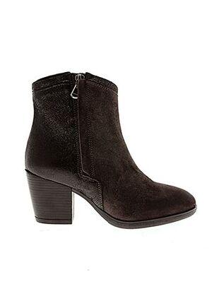 Bottines/Boots gris BISOUS CONFITURE pour femme