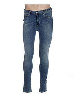 Jeans skinny bleu LEE pour homme