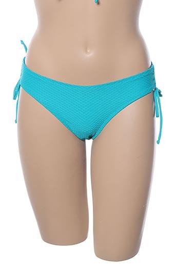 Bas de maillot de bain bleu VARIANCE pour femme