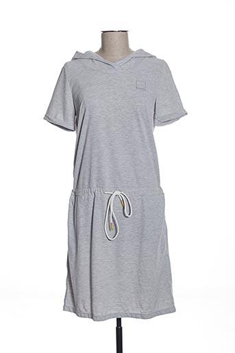 Robe mi-longue gris BENCH pour femme