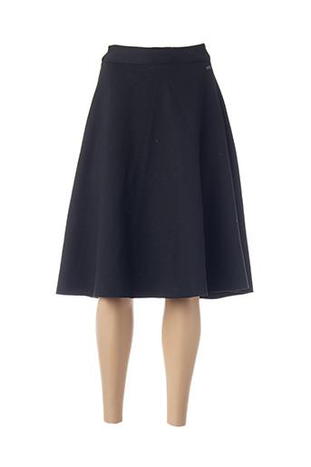 Jupe mi-longue noir BENCH pour femme