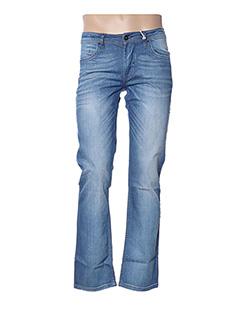 Jeans coupe droite bleu REDSKINS pour homme