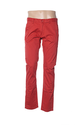 Pantalon casual rouge TEDDY SMITH pour homme