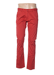 Pantalon casual rouge TEDDY SMITH pour homme seconde vue