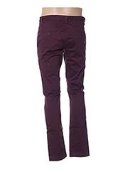 Pantalon casual violet TEDDY SMITH pour homme seconde vue