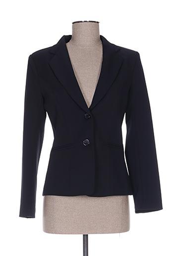 Veste chic / Blazer bleu ANABELLE pour femme