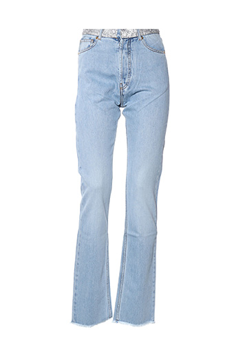 Jeans coupe droite bleu ALEXANDRE VAUTHIER pour femme