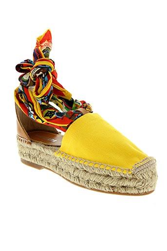 Espadrilles jaune DSQUARED pour femme