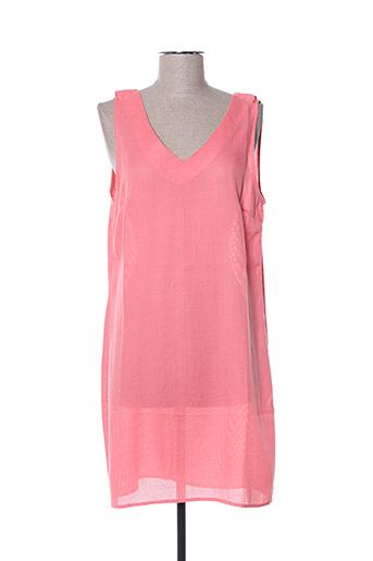Robe courte rose CONTEMPLAY pour femme