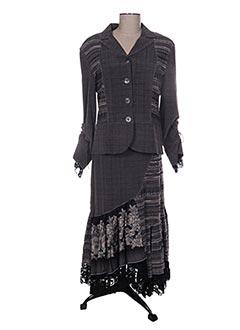 Veste/jupe gris JEAN DELFIN pour femme