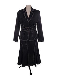 Veste/jupe noir CREATIF PARIS pour femme