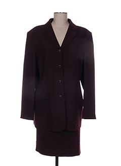 Veste/jupe rouge CHRISTINE LAURE pour femme