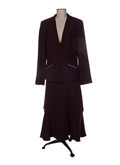 Veste/jupe violet PAUL MAUSNER pour femme