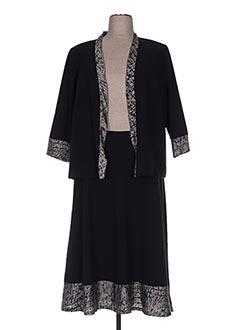 Veste/jupe noir FRANCOISE F pour femme