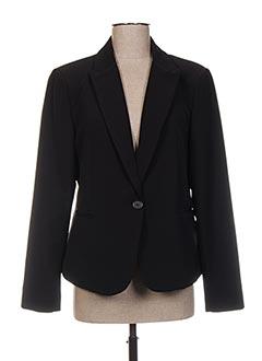 Veste chic / Blazer noir FARUK pour femme