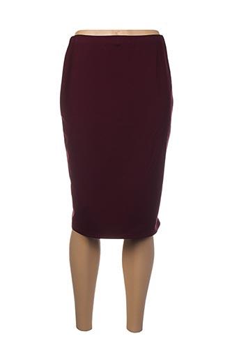 Jupe mi-longue violet EMA BLUE'S pour femme