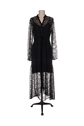 Robe longue noir BSB pour femme