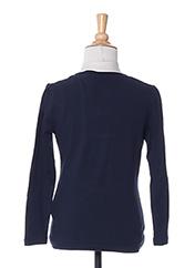 T-shirt manches longues bleu NAME IT pour fille seconde vue